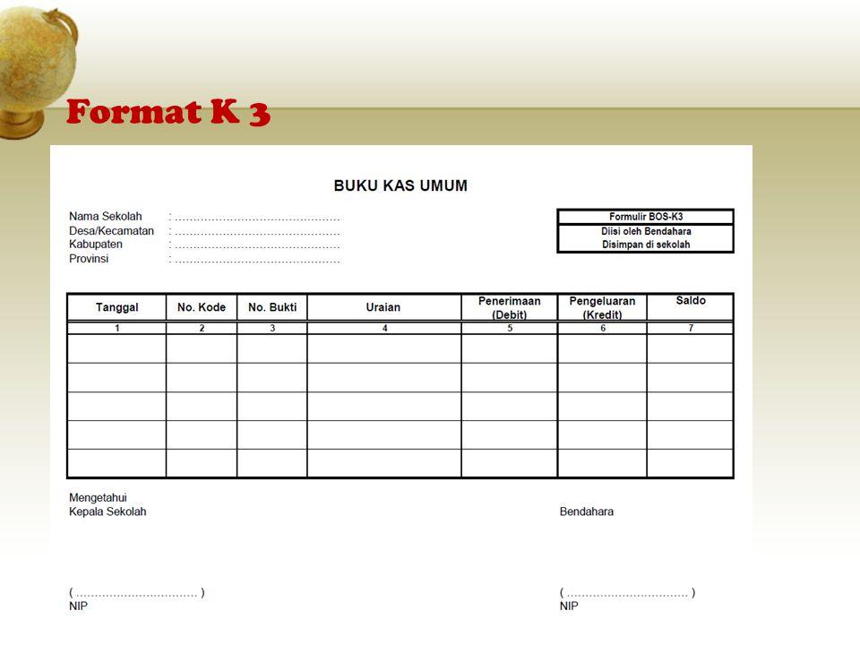 Format K 3