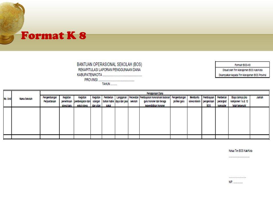 Format K 8