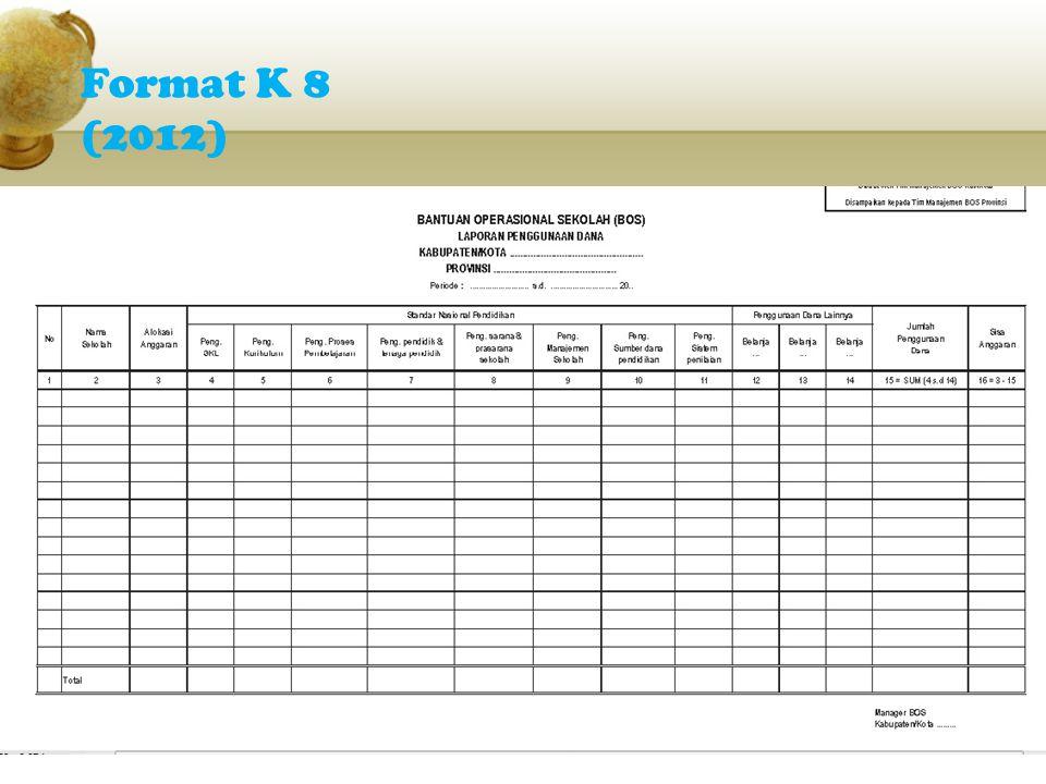 Format K 8 (2012)