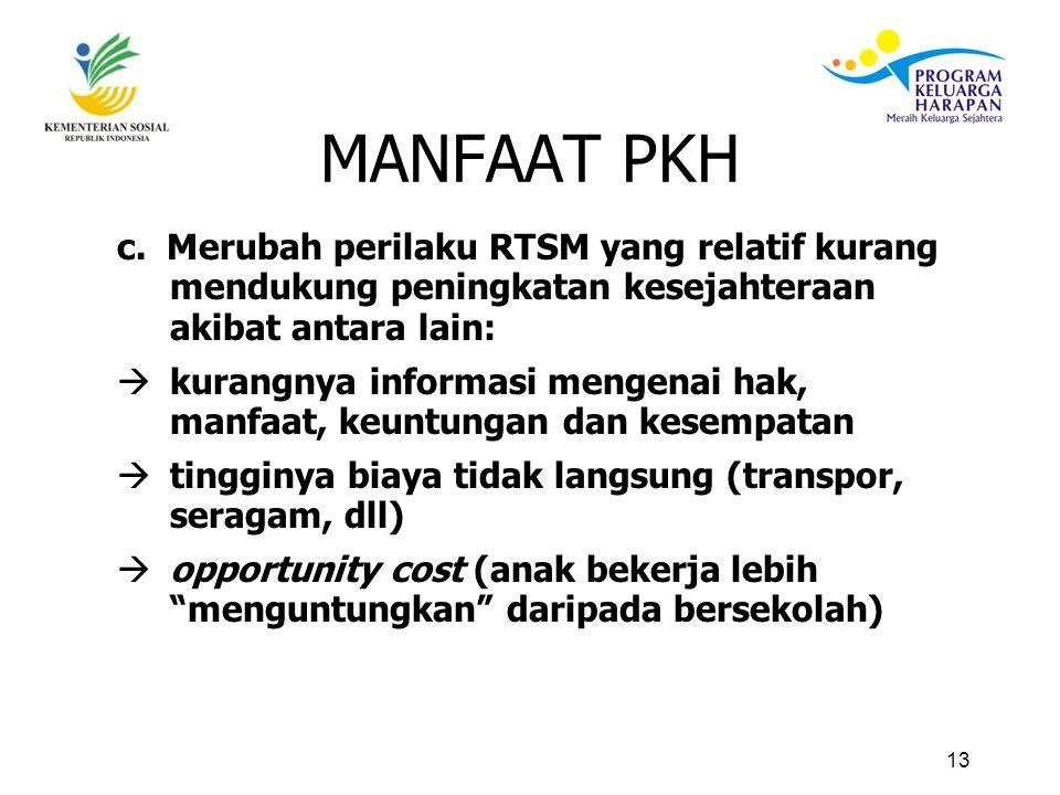 13 MANFAAT PKH c.