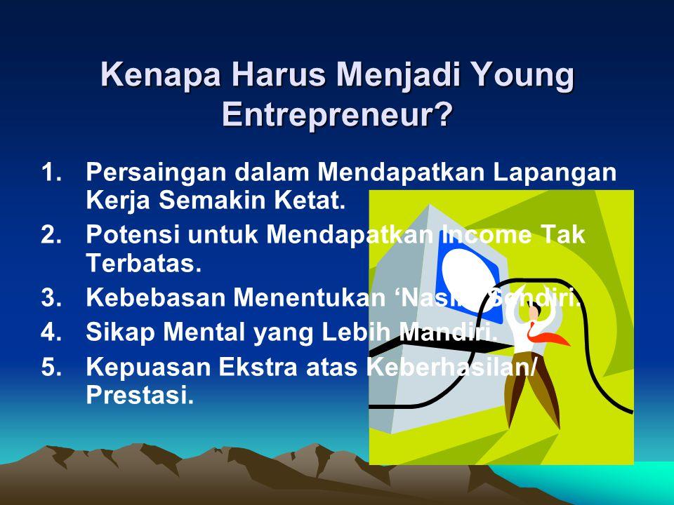 Kenapa Harus Menjadi Young Entrepreneur.