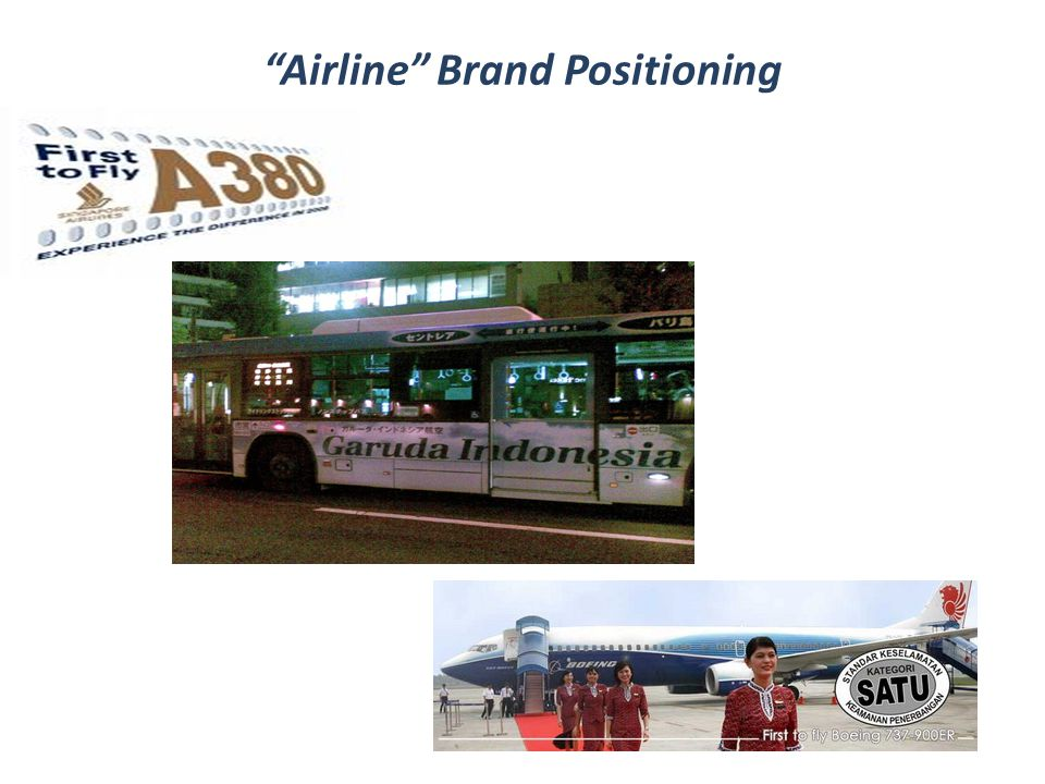 Airline Brand Positioning