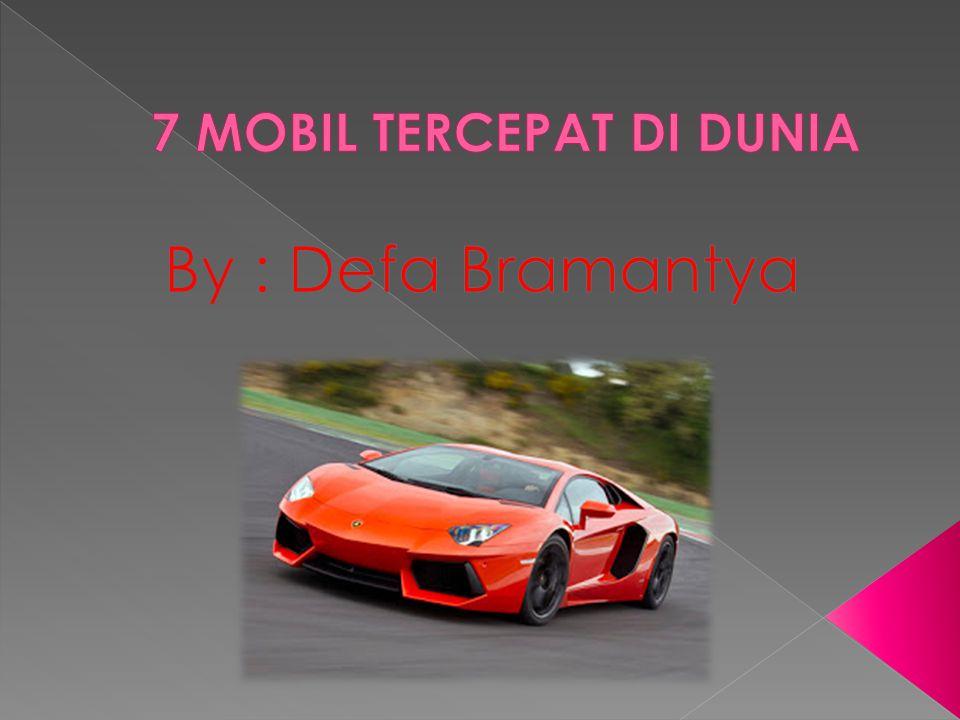 Diluncurkan pada 2010 oleh pabrikan Prancis, Bugatti, Veyron Super Sport tetap menjadi mobil produksi tercepat di dunia dengan kecepatan 431 km/jam.