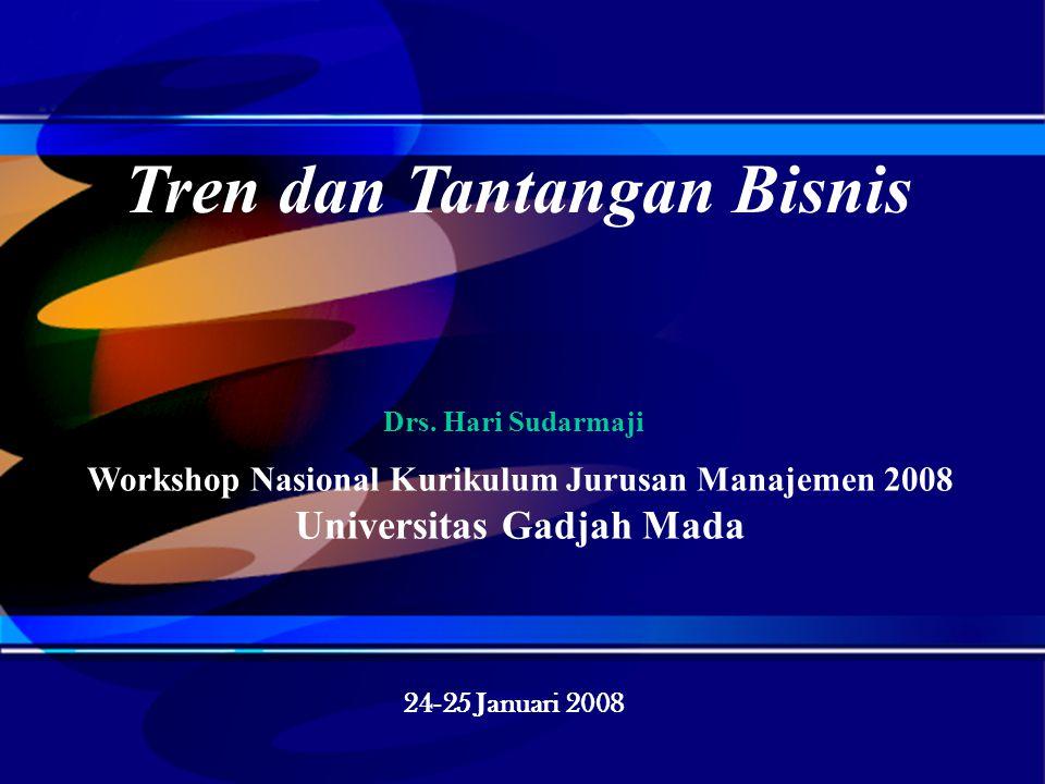 Hal. 1 OPTIMA CONSULTING ® File:Klien/UGM/HS~1 Tren dan Tantangan Bisnis/PP-K/240108 Workshop Nasional Kurikulum Jurusan Manajemen 2008 Fakultas Ekono