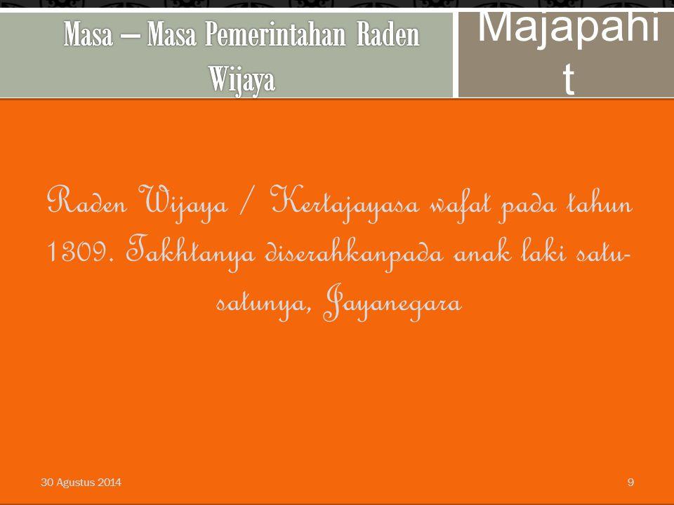 8 Raden Wijaya