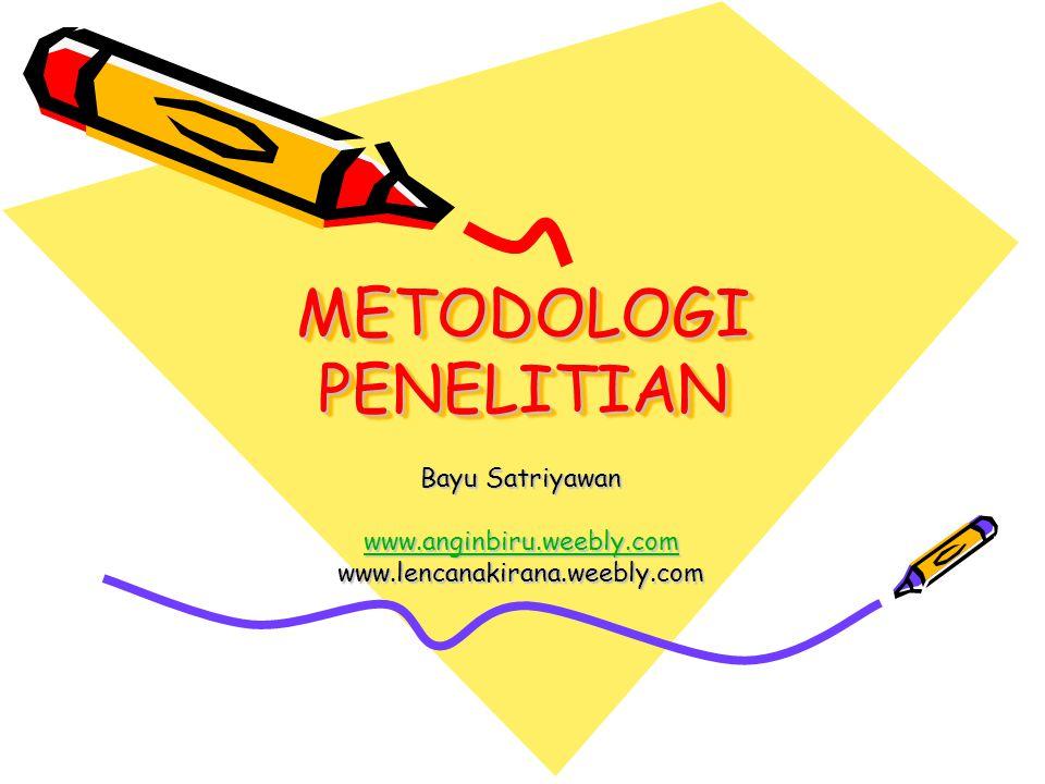Tujuan Penulisan Metode Penelitian Metode penelitian adalah suatu prosedur kegiatan untuk memecahkan problem atau menjawab pertanyaan sehingga dapat mencapai tujuan yang telah ditetapkan.