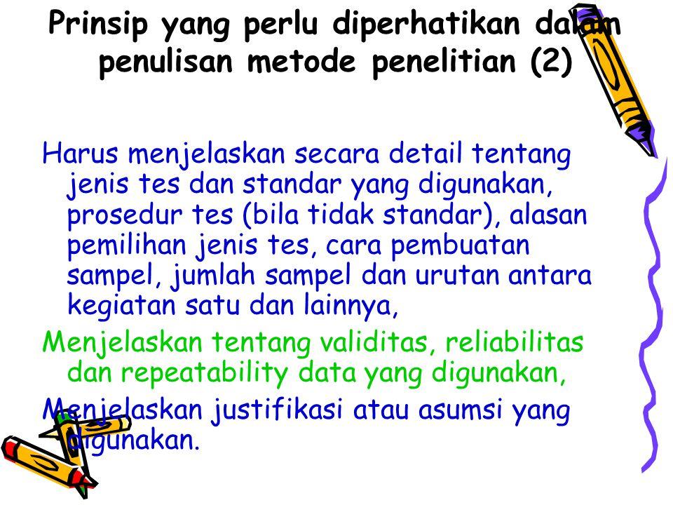 Buku Referensi Pokok Arikunto, S., 1998, Prosedur Penelitian, Penerbit Rineka Cipta, Jakarta CA.