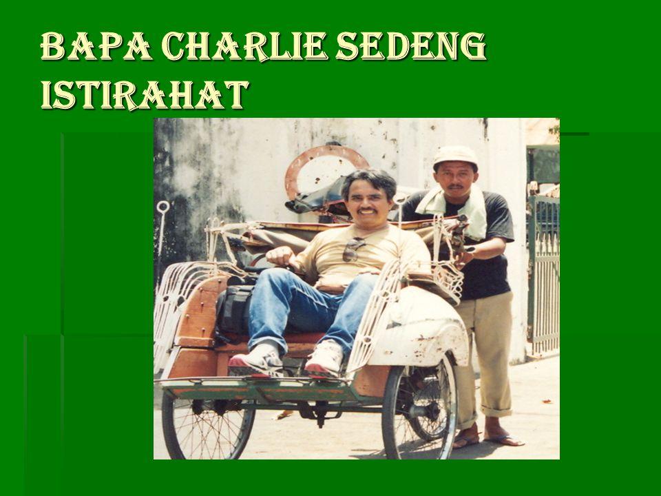 Bapa Charlie membawa penumpang