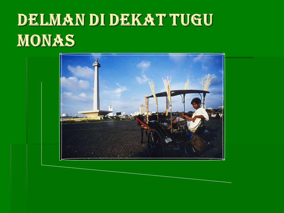 Andong, salah satu angkutan umum khas di Yogyakarta.