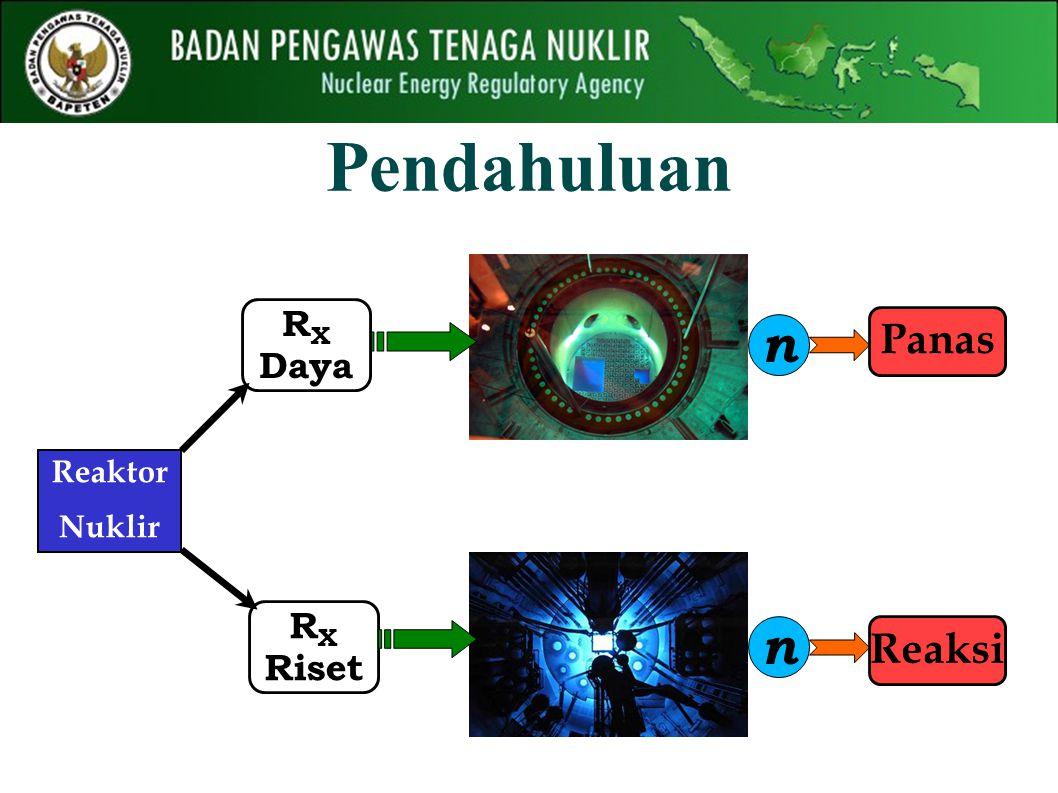 Reaktor Nuklir R X Riset R X Daya n n PanasReaksi