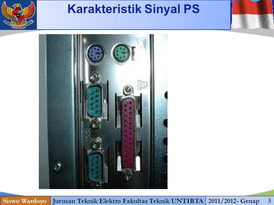 www.themegallery.com Karakteristik Sinyal PS Siswo WardoyoJurusan Teknik Elektro Fakultas Teknik UNTIRTA2011/2012- Genap 5 1 13