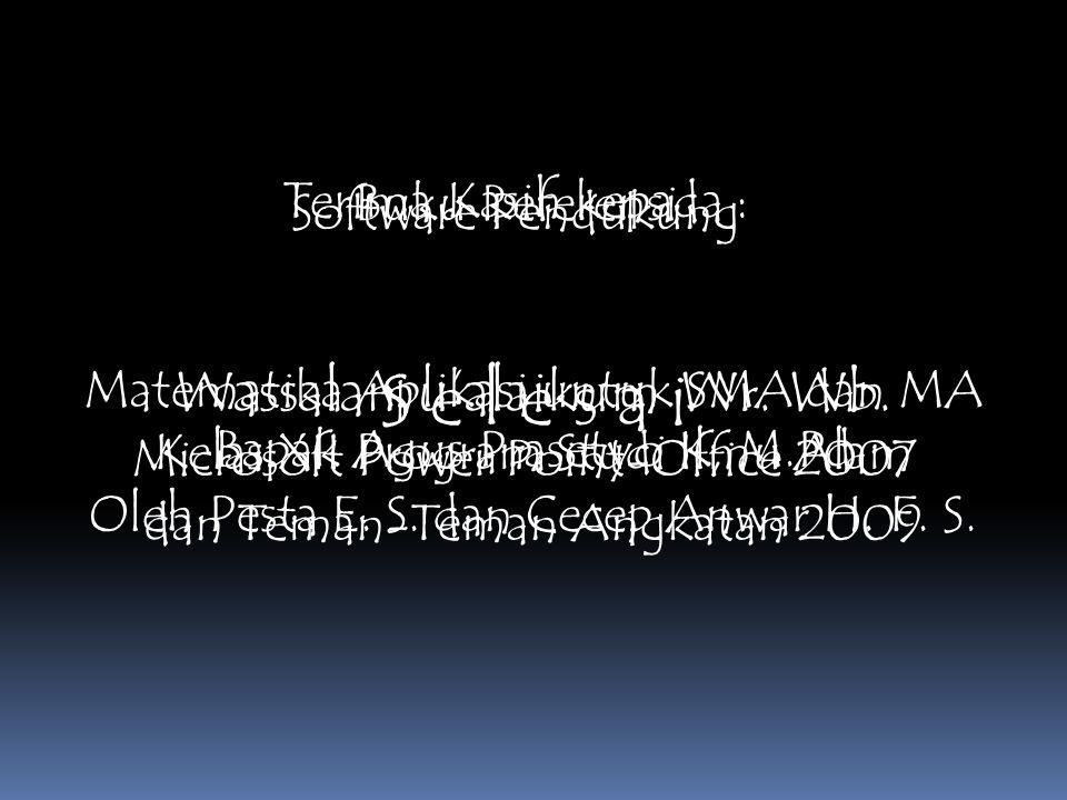 B a r i s a n d a n D e r e t Melihat sistem bilangan Arab lebih sederhana dan efisien dibandingkan bilangan Romawi, Fibonacci kemudian berkelana ke p