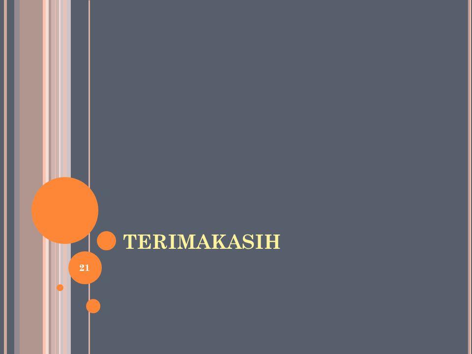 TERIMAKASIH 21