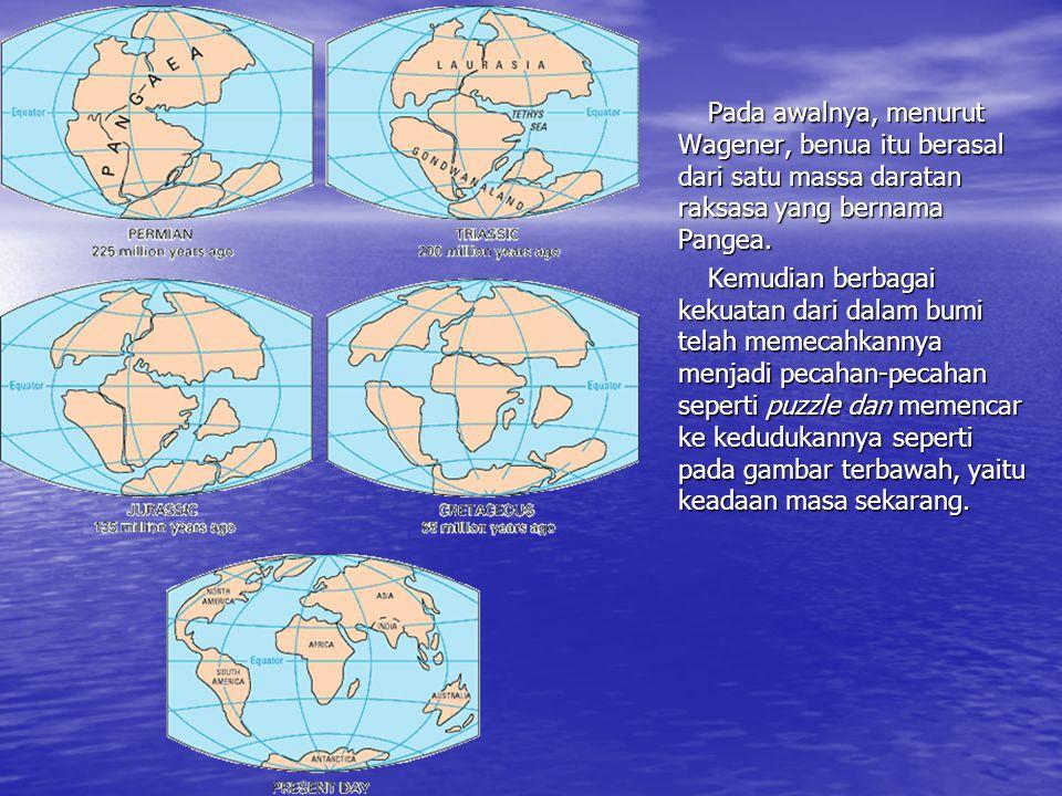 Teori Ingsutan Benua & Teori Tektonik Lempeng Lempeng tektonik adalah segmen keras kerak bumi yang disokong oleh magma di bawahnya. Disebabkan ini mak