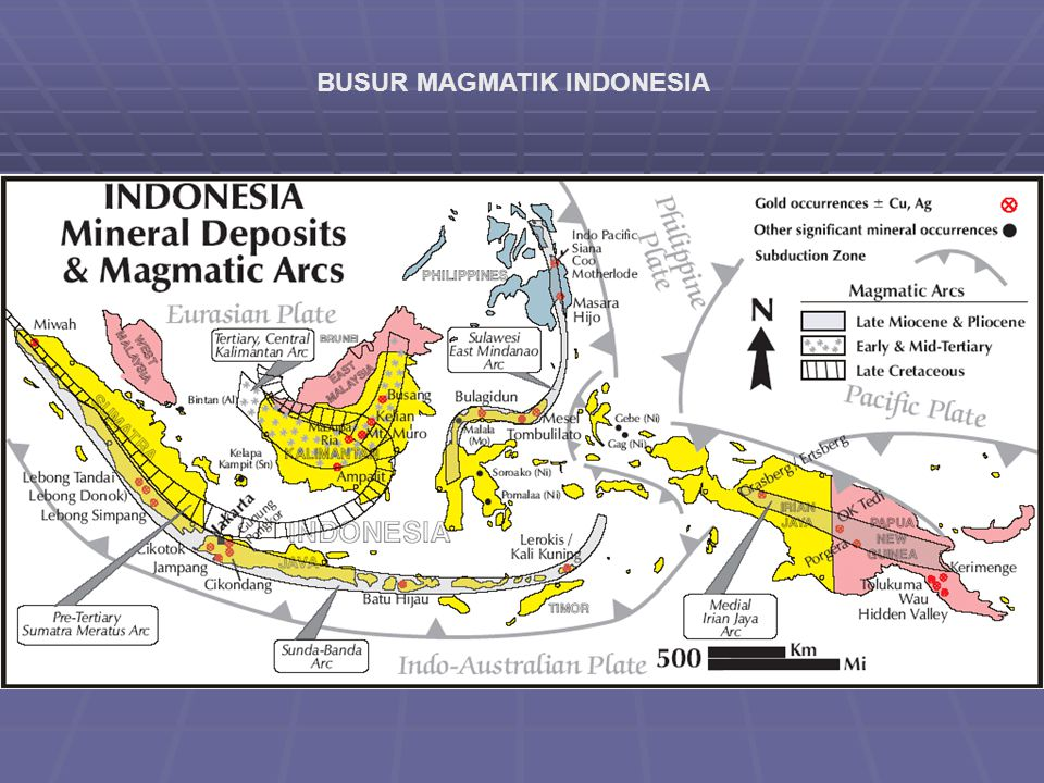 BUSUR MAGMATIK INDONESIA