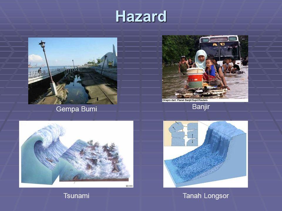Hazard Gempa Bumi Banjir TsunamiTanah Longsor