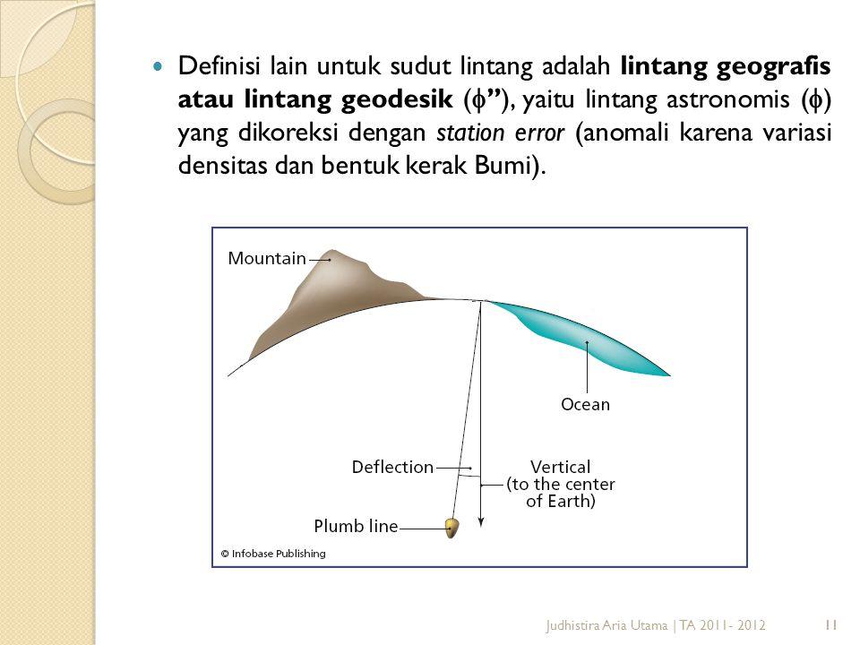 12Judhistira Aria Utama | TA 2011- 201212