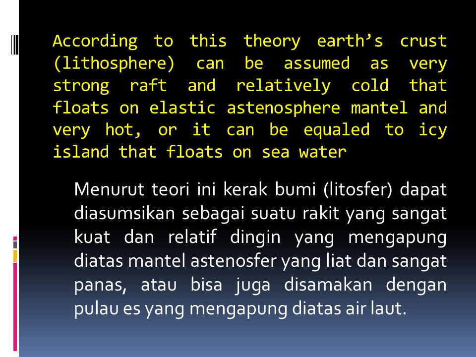 There aretwo kinds of earth's crust those are oceanic crust that is made up of rock with base property and very base property, those are found in fery deep ocean, and continental crust that is made up of acidic rock and thicker than oceanic crust.