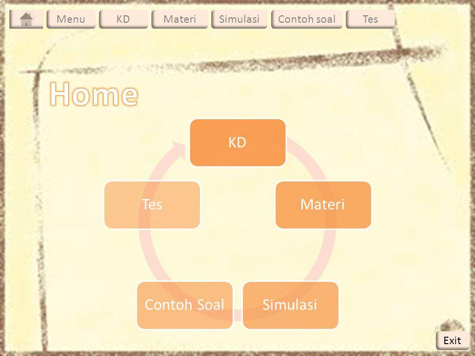 Benda-benda berbentuk titik (diskrit) I =  m.r 2 m1 m2 m3 r1 r2 r3 Benda-benda bukan titik (kontinyu ) I =  r 2 dm dm M dr L dm/dr = M/L  dm = M/L dr I = M/L 0  L r 2 dr = M/L[1/3 r3] L 0 = 1/3 M/L[L 3 – 0] = 1/3 ML 2 Menghitung Momen Inersia ( I ) Menu KDMateriSimulasiContoh soalTesMenu Exit