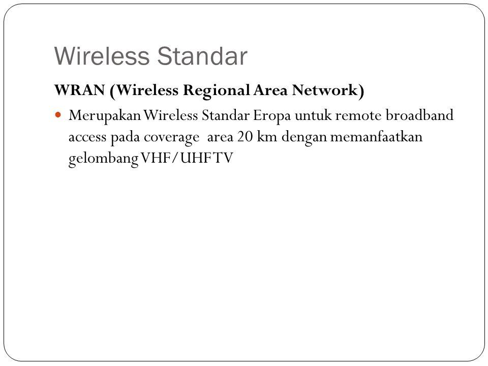 Wireless LAN Wireless LAN disingkat WLAN ~ Wi-Fi (Wireless Fidelity) ~ Hotspot WLAN menggunakan radio frequencies (RF) sebagai pengganti kabel pada lapisan fisik (layer physical) dan sub ‐ layer MAC dari layer data link