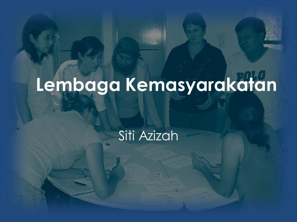Lembaga Kemasyarakatan Siti Azizah