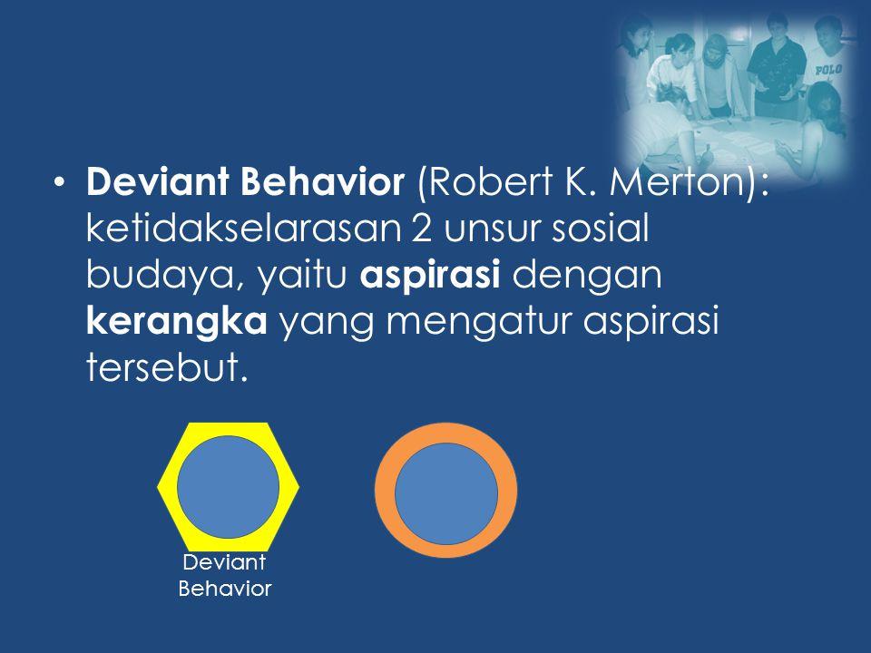 Deviant Behavior (Robert K.