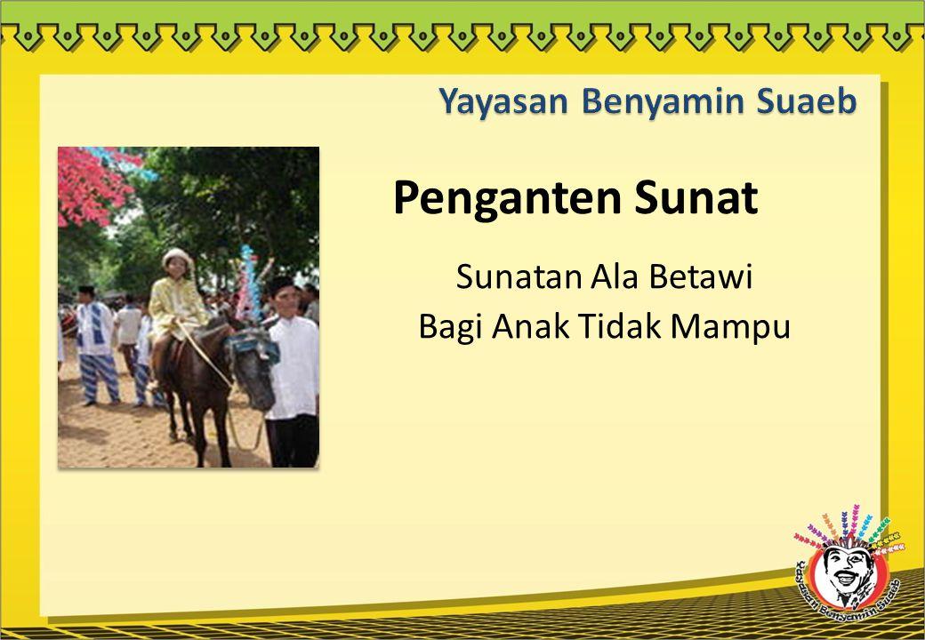 Latar Belakang  Kearifan budaya Betawi, mungkin menjadi kalimat asing di telinga sebagian masyarakat, bahkan di kalangan masyarakat Jakarta sendiri.