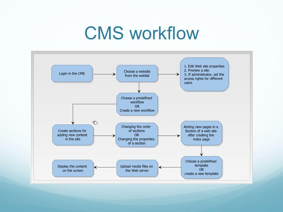 CMS workflow