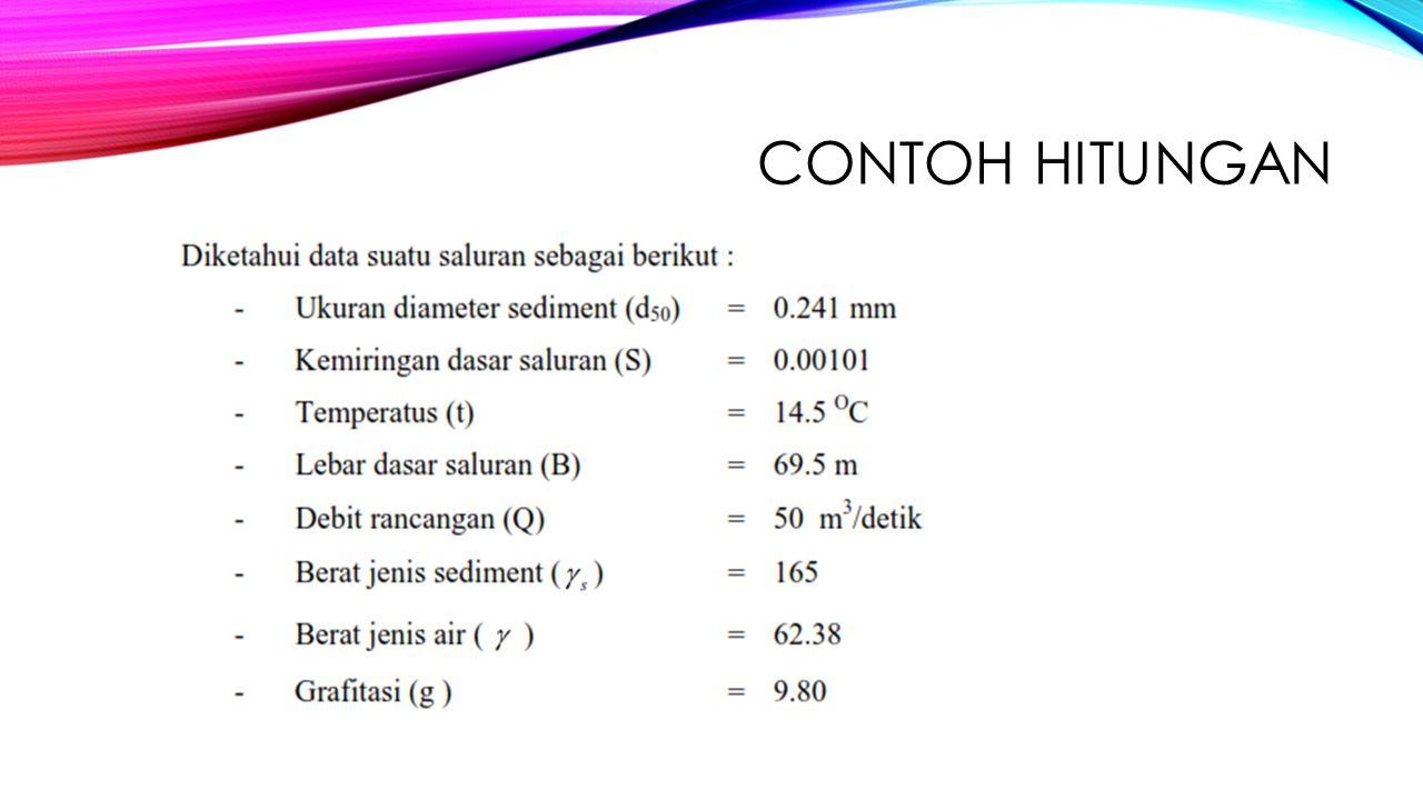 CONTOH HITUNGAN