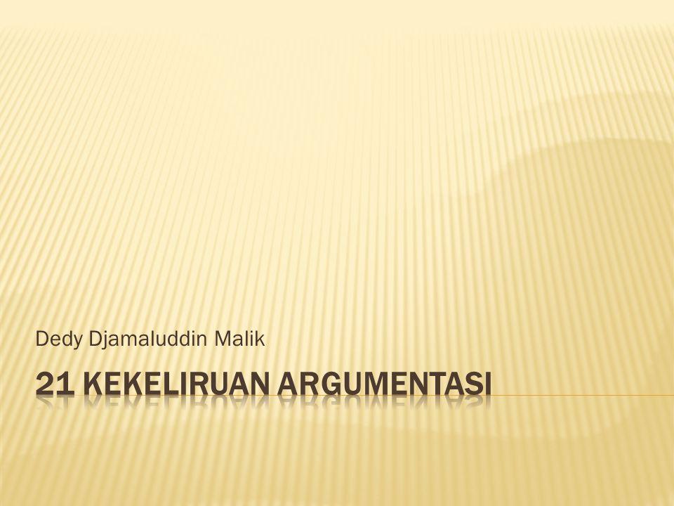 Dedy Djamaluddin Malik