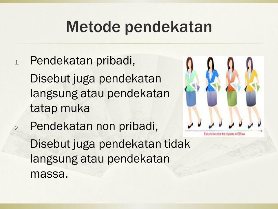 Metode pendekatan 1.