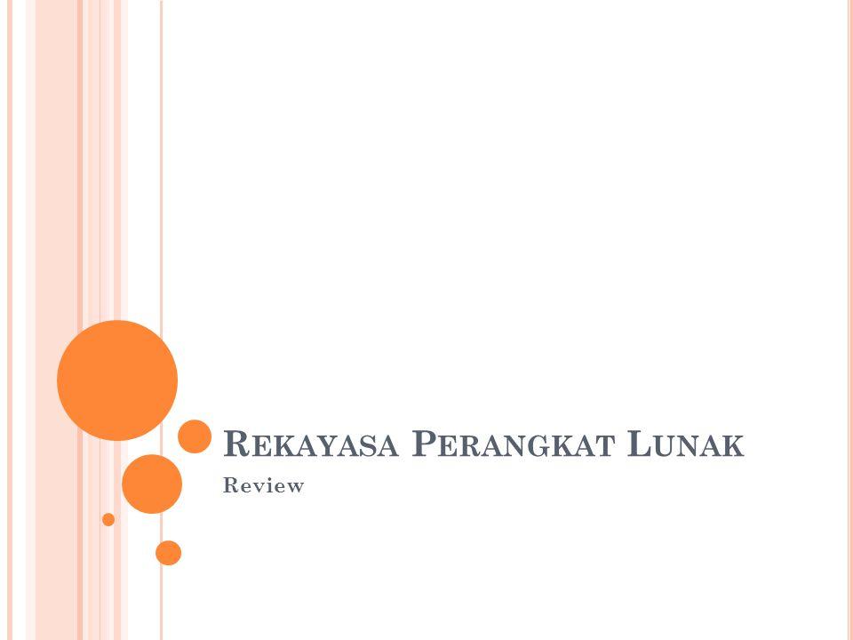 R EKAYASA P ERANGKAT L UNAK Review