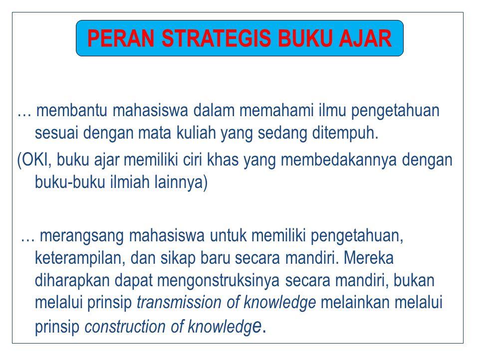 … membantu mahasiswa dalam memahami ilmu pengetahuan sesuai dengan mata kuliah yang sedang ditempuh.
