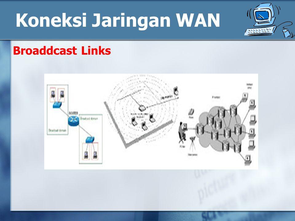 Broaddcast Links Koneksi Jaringan WAN