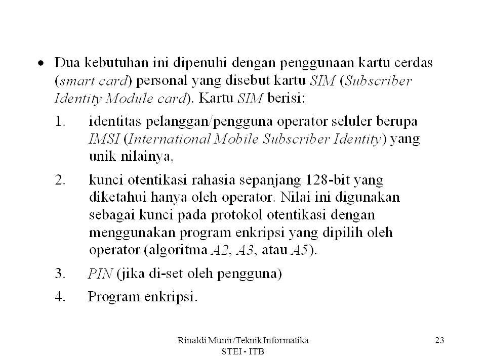 Rinaldi Munir/Teknik Informatika STEI - ITB 23