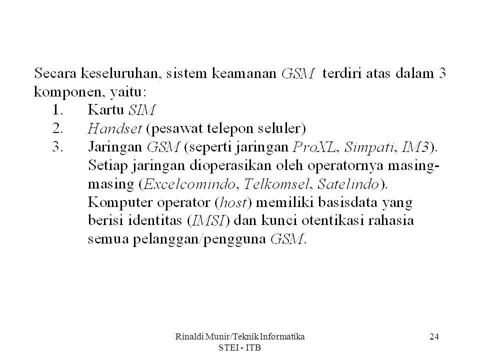 Rinaldi Munir/Teknik Informatika STEI - ITB 24