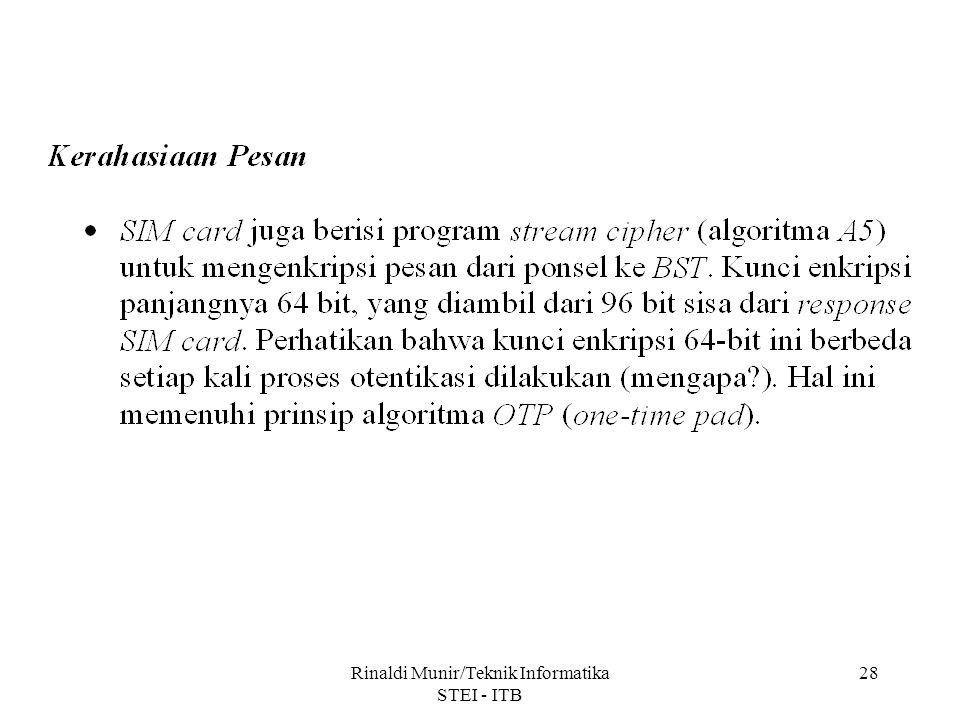 Rinaldi Munir/Teknik Informatika STEI - ITB 28