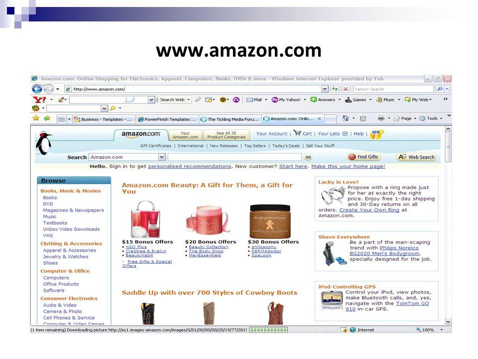 Proses Persetujuan E-Commerce Dalam perdagangan elektronik mengenal sistem 3 klik : klik pertama : calon pembeli melihat di layar komputer adanya penawaran dari calon penjual.