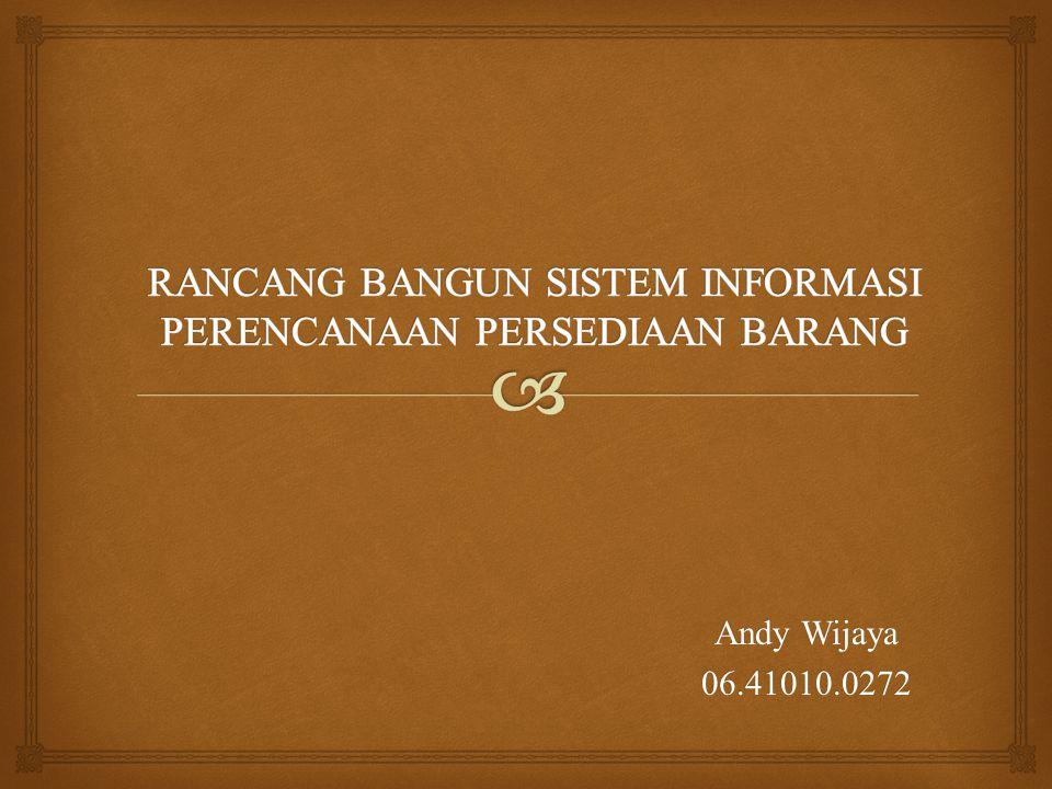 Andy Wijaya 06.41010.0272