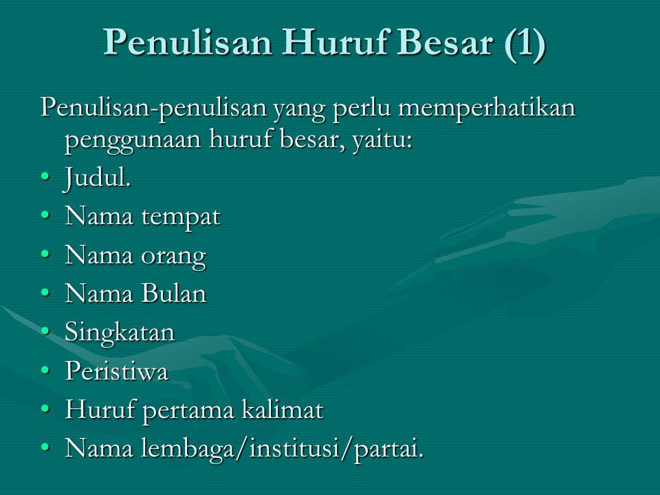 Penulisan Huruf Besar (2) Ayip Pelaku Ketiga Bom Bali II Pelaku ketiga bom bunuh diri di R.Aja's Café Kuta, Bali, awal Oktober 2005, akhirnya diketahui bernama Ayip Hidayatullah (21), penduduk Dusun Karangsari, Desa Bangunsari, Kecamatan Pamarican, Ciamis, Jawa Barat.