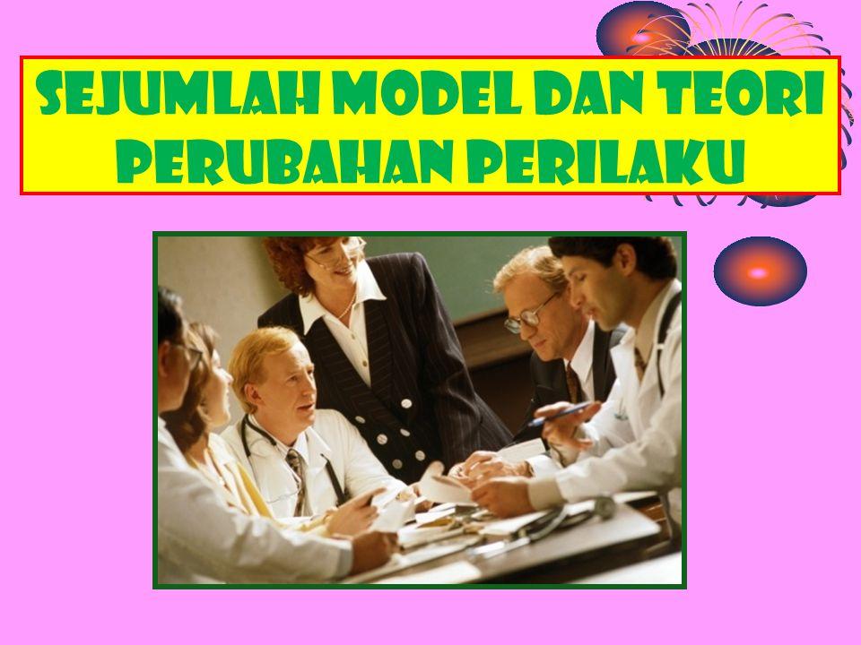 sejumlah model dan teori perubahan perilaku