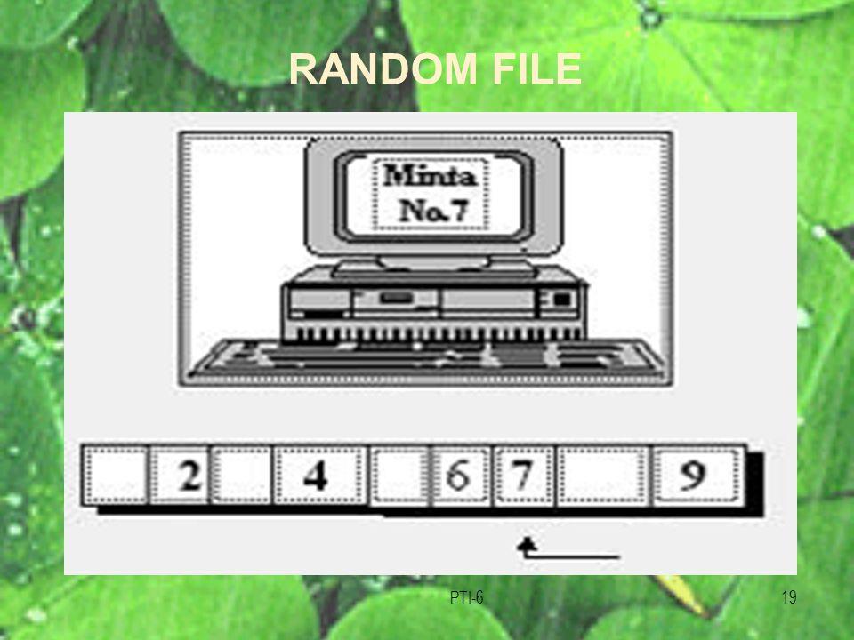 PTI-619 RANDOM FILE