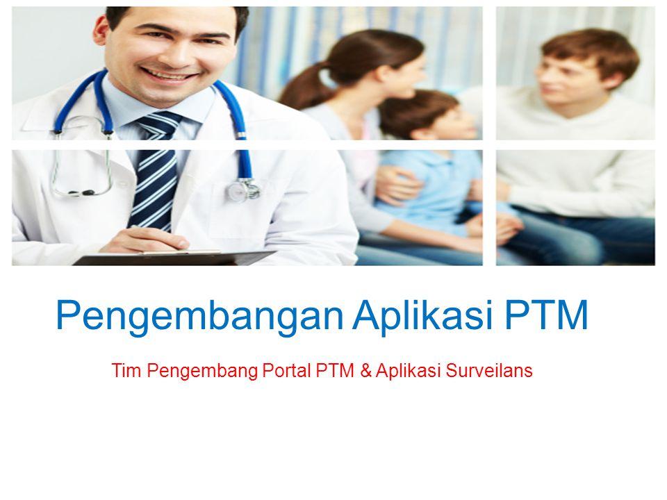 Pengembangan Aplikasi PTM Tim Pengembang Portal PTM & Aplikasi Surveilans