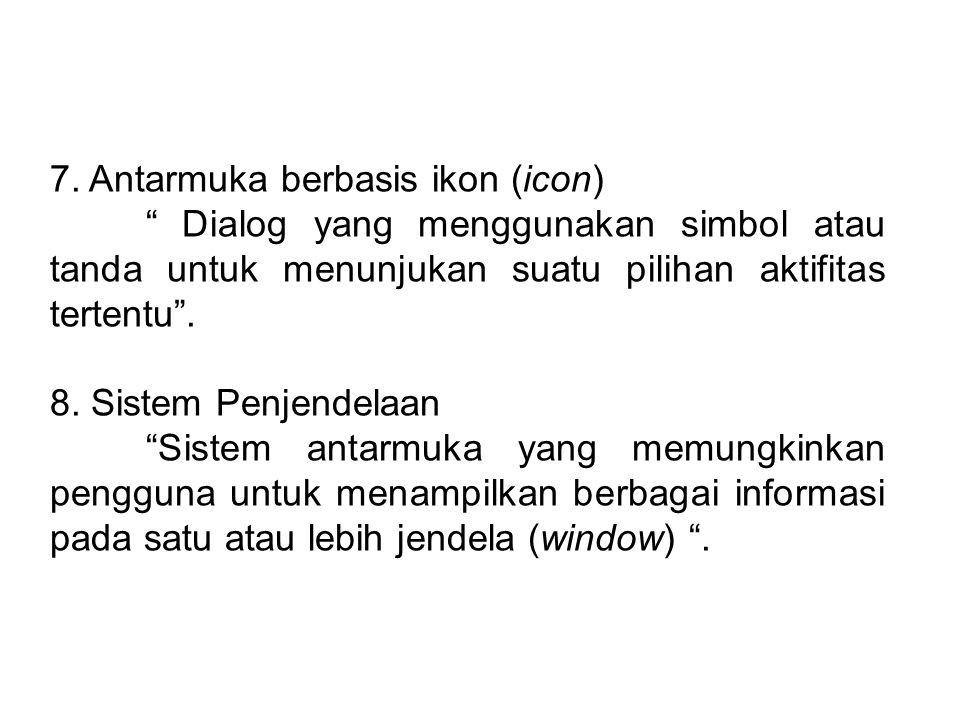 6.Dialog berbasis pengisian formulir (Form filling dialogue).