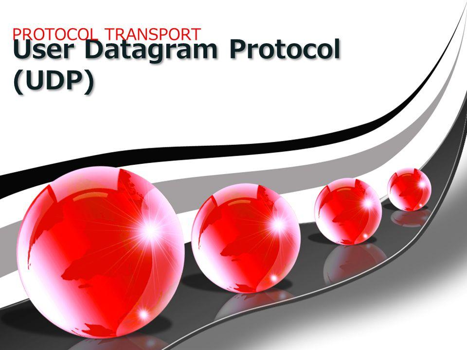 User Datagram Protocol (UDP) PROTOCOL TRANSPORT