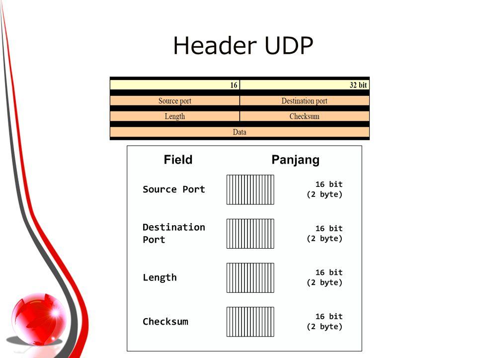 Header UDP