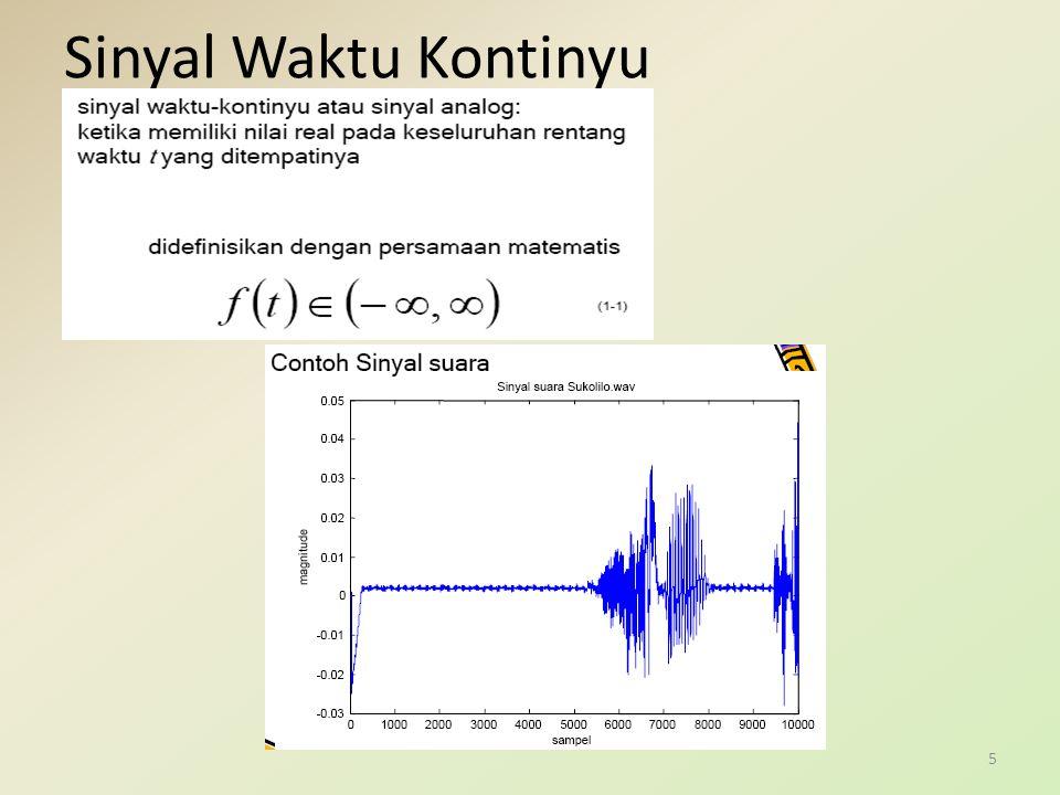 Sinyal Waktu Diskrit 6