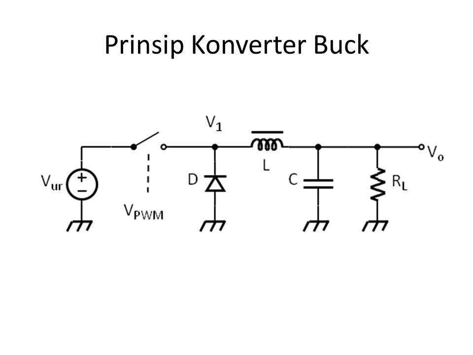 Prinsip Konverter Buck