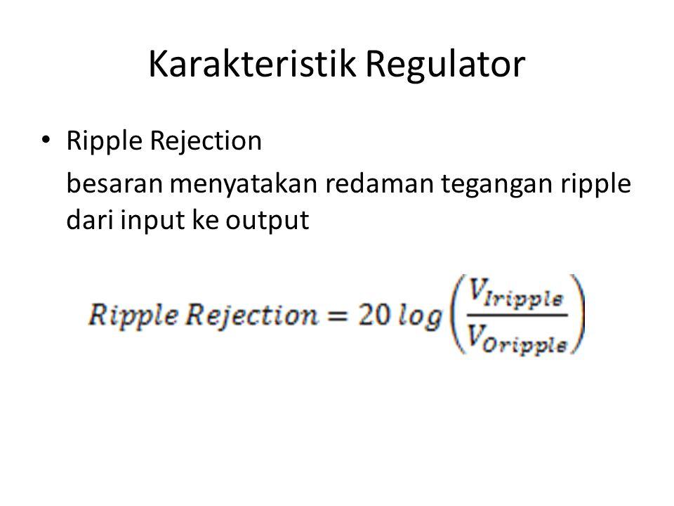 Prinsip Regulasi Kontinyu Seri V ref konstan V out V feedback V base V EB ICIC V out