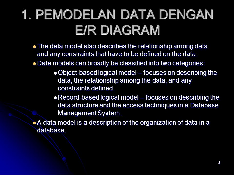 2 Konsep Pemodelan Data